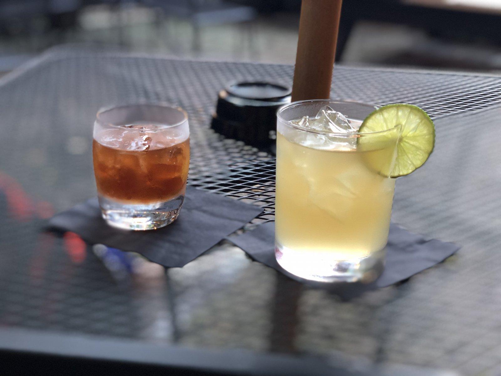 Bourbon Drinks at Old Kentucky Bourbon Bar