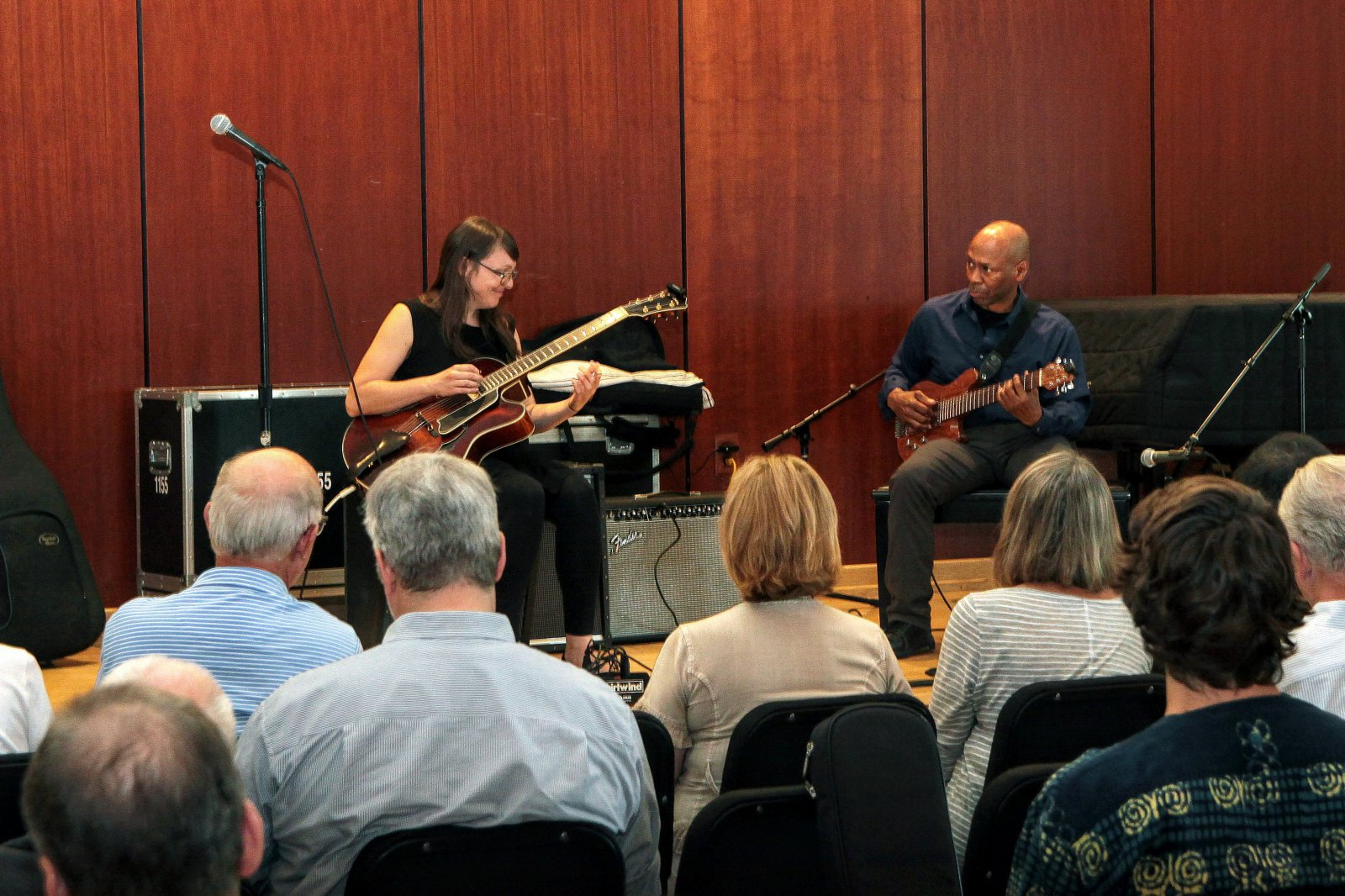 Jocelyn Gould from Winnipeg, Canada was voted 3rd Place in the Jazz category at the 2017 Wilson Center Guitar Festival competition