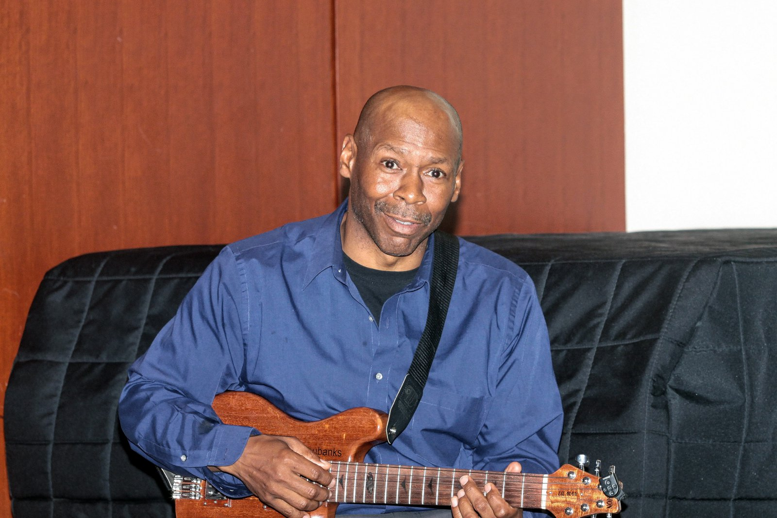 Festival headliner and former band leader of The Tonight Show, Kevin Eubanks