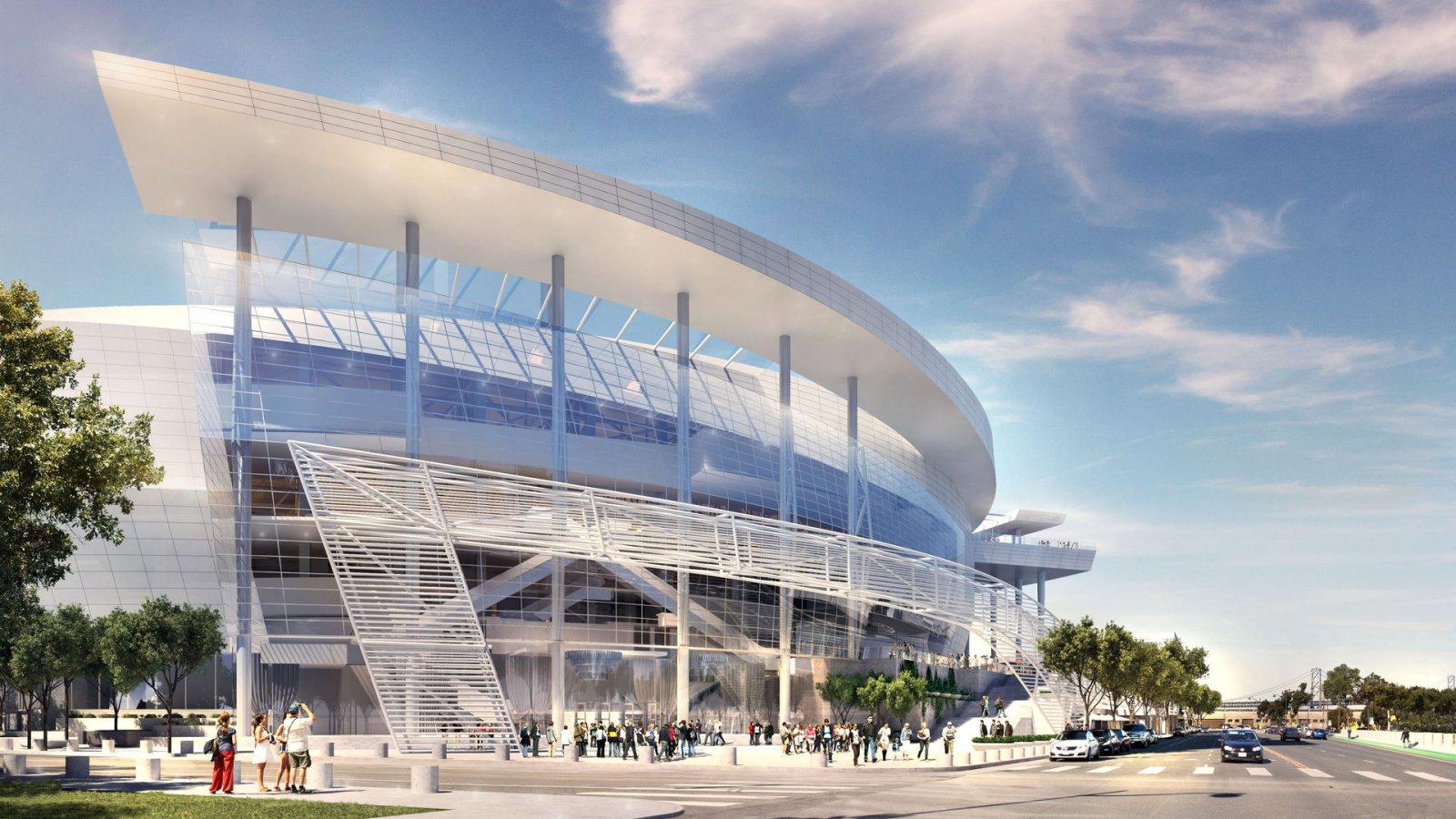 San Francisco Arena - Southeastern Entrance