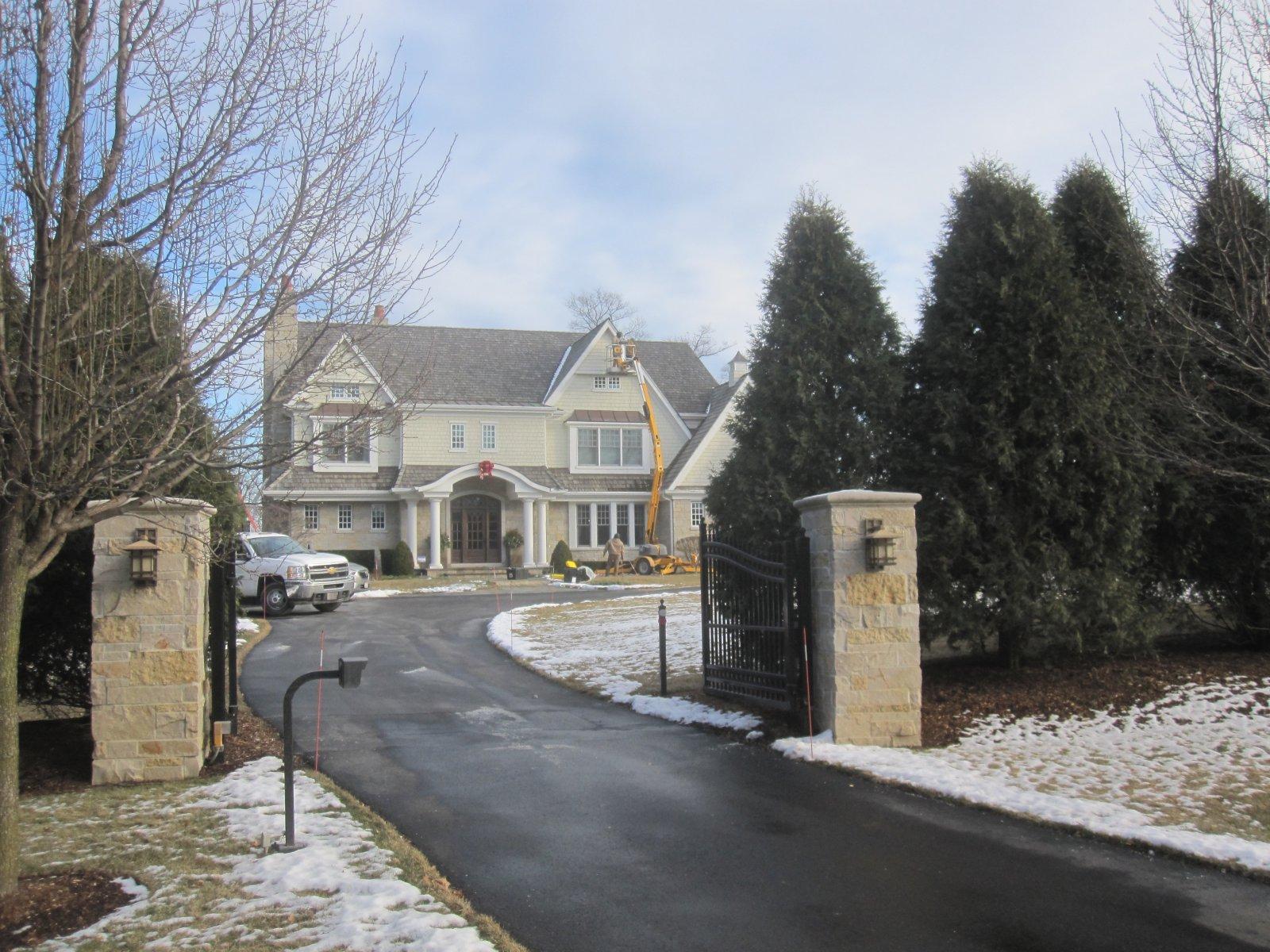 Jason Kidd\'s Gated Lakefront Mansion