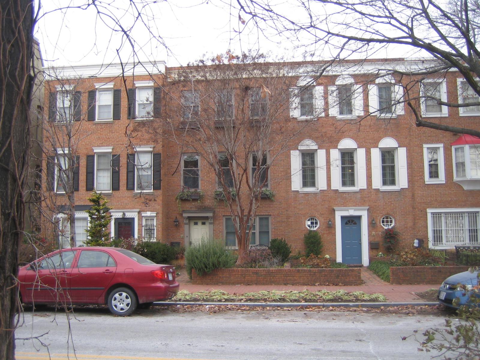 Ron Johnson Home and neighbors.