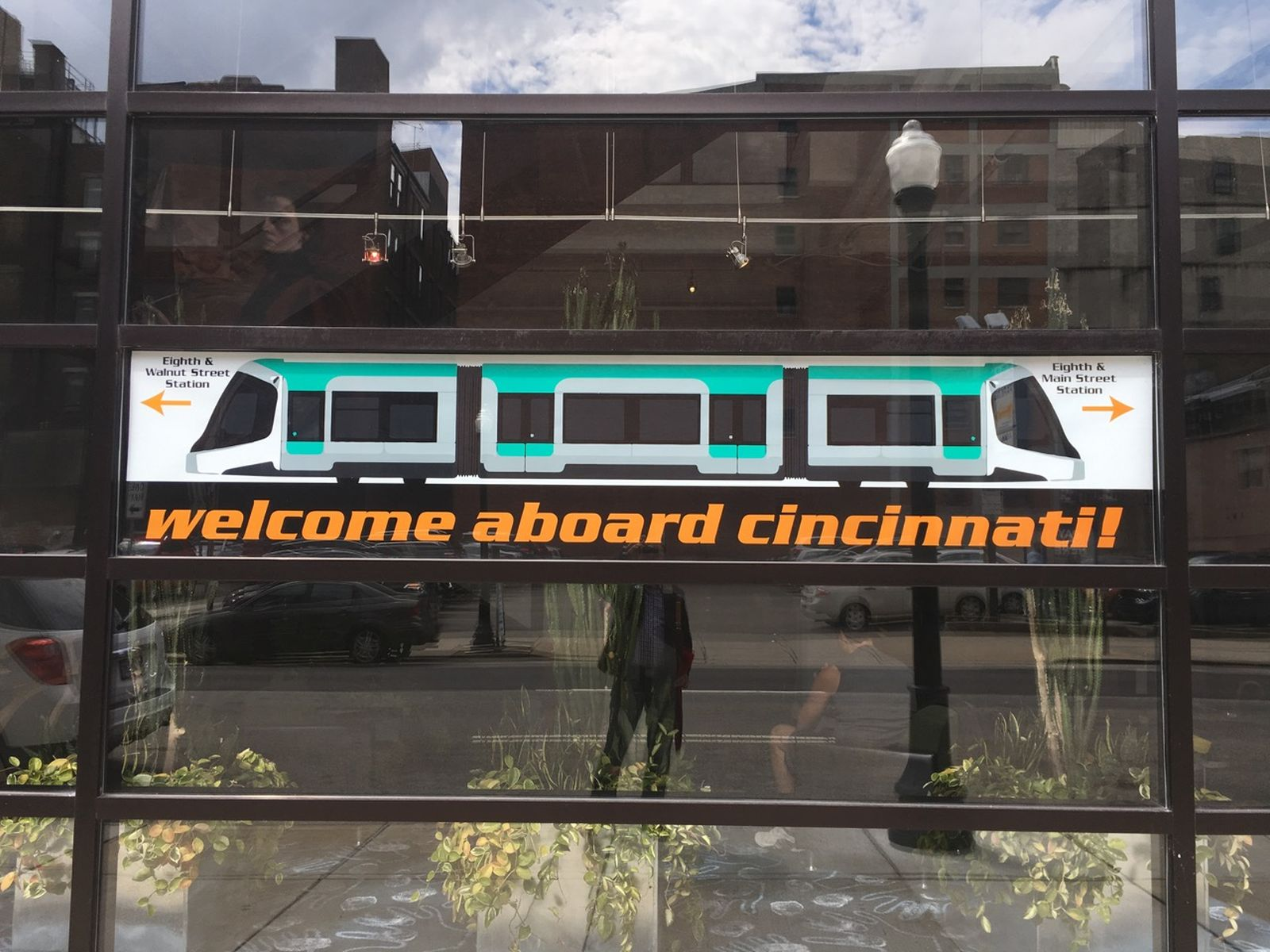 Cincinnati Bell Connector Opening