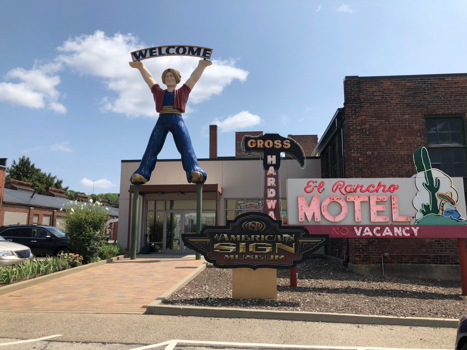 American Sign Museum Entrance