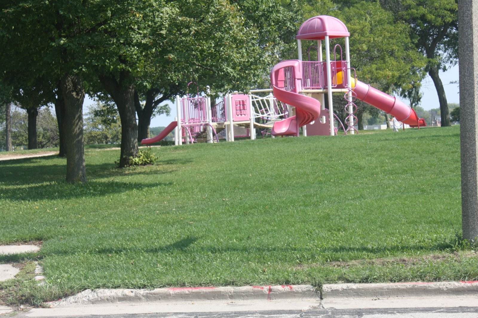 Playset at the end of Bottsford Avenue