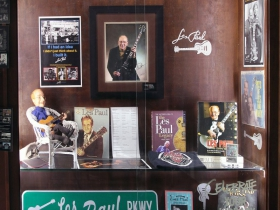 """Remembering Les Paul"" Exhibit at the Wauwatosa Library"
