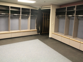 Pepsi Center Locker Room