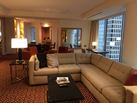 Presidential Suite at Conrad Chicago