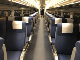 Amtrak Hiawatha Interior