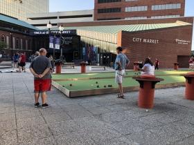 Outside City Market