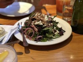 Salad at Bluebeard