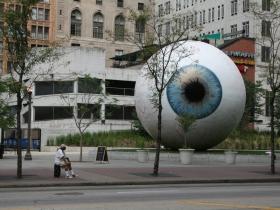 The Eye in Pritzker Park
