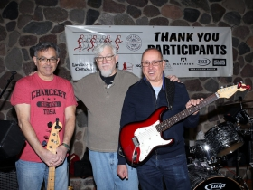 The Steelheads, Scott Bush, Ray Fisher and Mark Steele