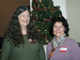 Nancy Welch, Wauwatosa Alderwoman and Dianne Dagelen, Great Waters Group/Sierra Club.
