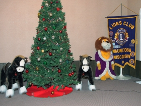Christmas at the Wauwatosa Lions Club.