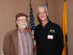 Peter Abbott, Grassroots Tosa — CGC Chair and writer/environmentalist Jim Price.