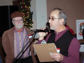 Dale Dulberger introducing Peter Abbott