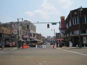 Beale Street in Memphis