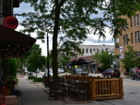 Parklet at Camp Bar - Shorewood