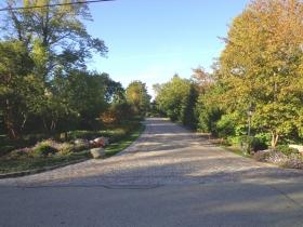 Michael White's River Hills driveway..