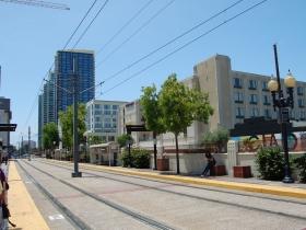 Standard San Diego Transit Stop