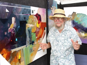 Artist Don Nedobeck has been creating art for over six decades