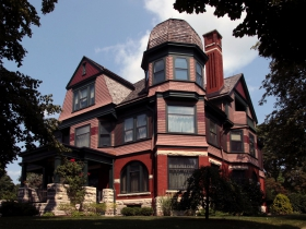 The Wauwatosa Historical Society purchased the Kneeland-Walker Victorian mansion, coach house, and 1.5 acres of gardens and grounds in 1987 and is located at 7406 Hillcrest Drive, Wauwatosa,WI