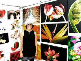 Digital photo artist, Phyllis Bankier from Scenescapes Photography, featured food, flowers and scenic imagery