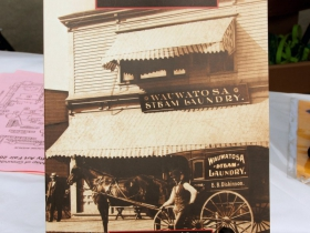 The Images of America book, titled, Wauwatosa. Images from the Wauwatosa Historical Society