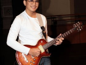 1st Place in the Rock/Blues competition at the 2017 Wilson Center Guitar Festival went to Ramon Luis Galang, Quezon City, Philippines