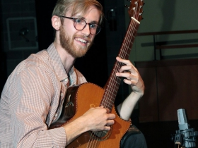 1st Place in the Fingerstyle competition at the 2017 Wilson Center Guitar Festival went to  Adam Bjoraker, Milwaukee, WI