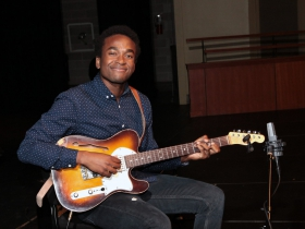 1st Place in the Jazz competition at the 2017 Wilson Center Guitar Festival went to Cecil Alexander, Muskegon, MI