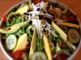 Café Manna: Exotic Salad