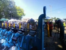 Bublr Bikes at Wauwatosa Farmers Market