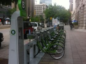 Bike-sharing in Salt Lake City.