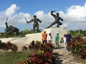 Matanzas monument to uprising of enslaved Africans led by Carlotta