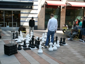 Chess in Westlake Park