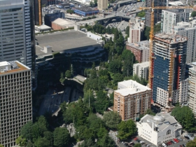 Freeway Park and Convention Center