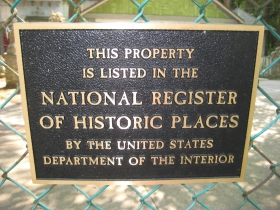 National Register of Historic Place.