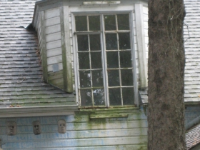 This dormer is in need of repairs. Photo by Michael Horne.