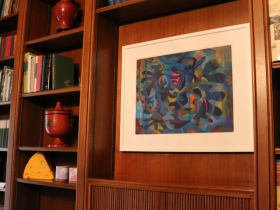 Art displayed in the Executive Residence