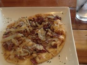 Texas Flat Bread Pizza