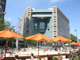 Campus Martius Park Beach