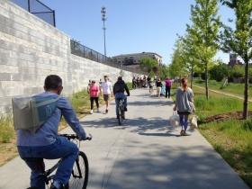 Picture of the Atlanta BeltLine corridor at Pylant St.