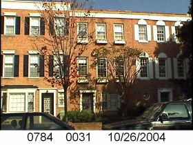 Photo of Ron Johnson's home in 2004.