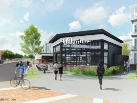 Valentine Coffee at Drexel Town Square Rendering