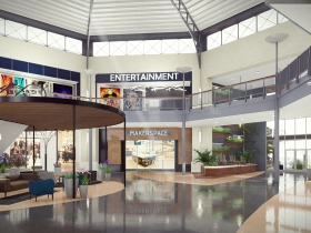 Bayshore Town Center redevelopment rendering