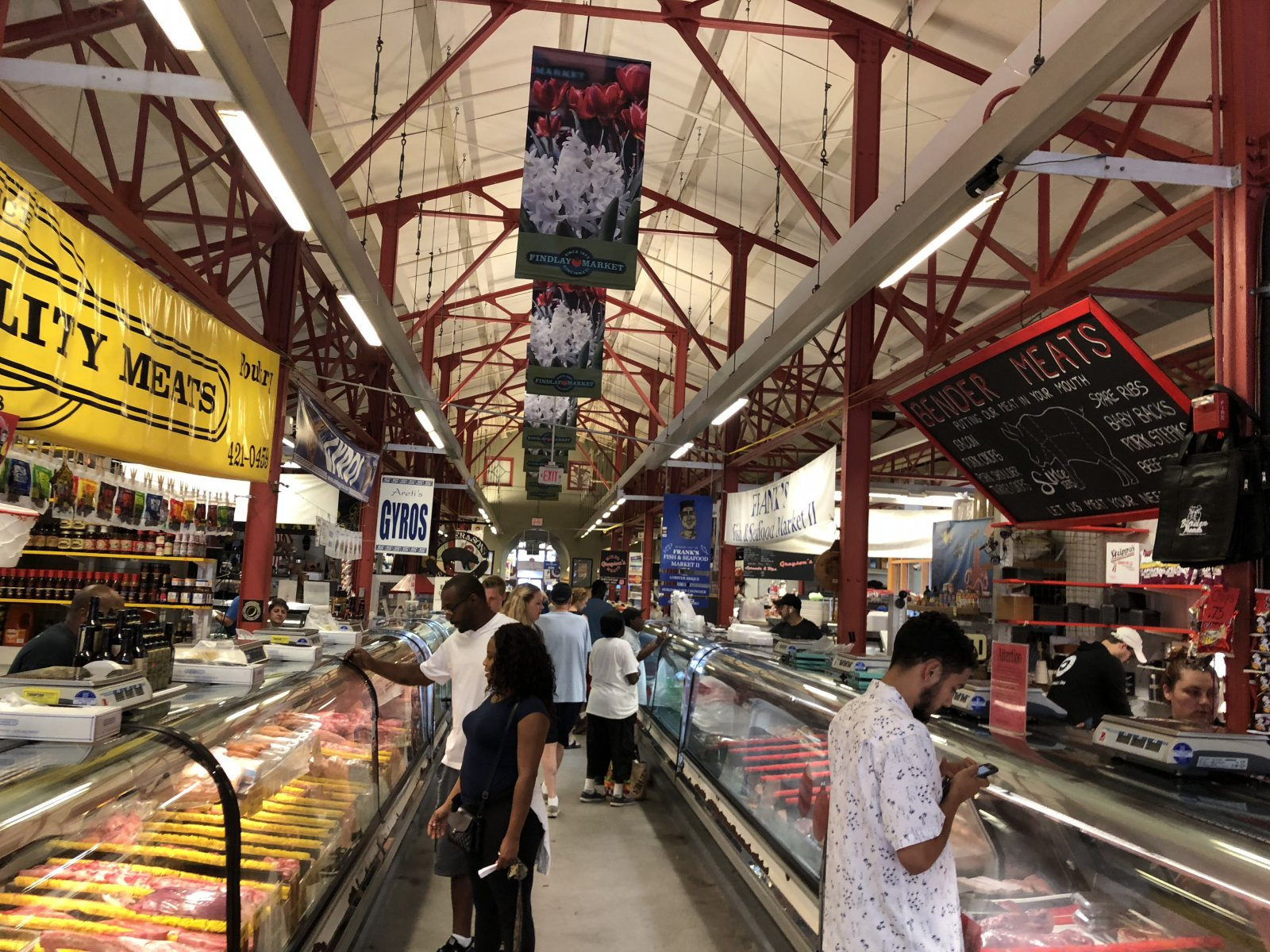 Findlay Market in Over the Rhine