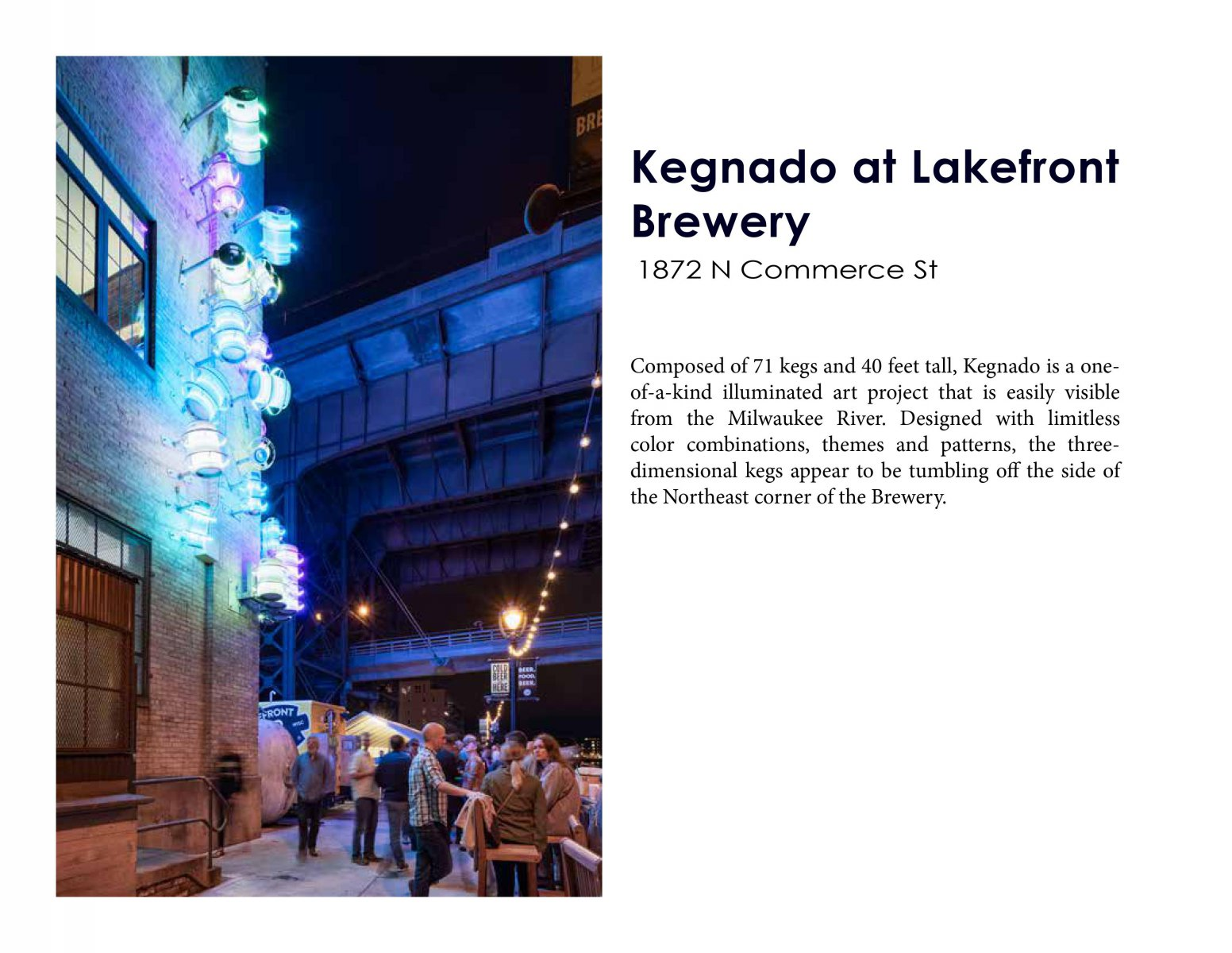 Kegnado at Lakefront Brewery
