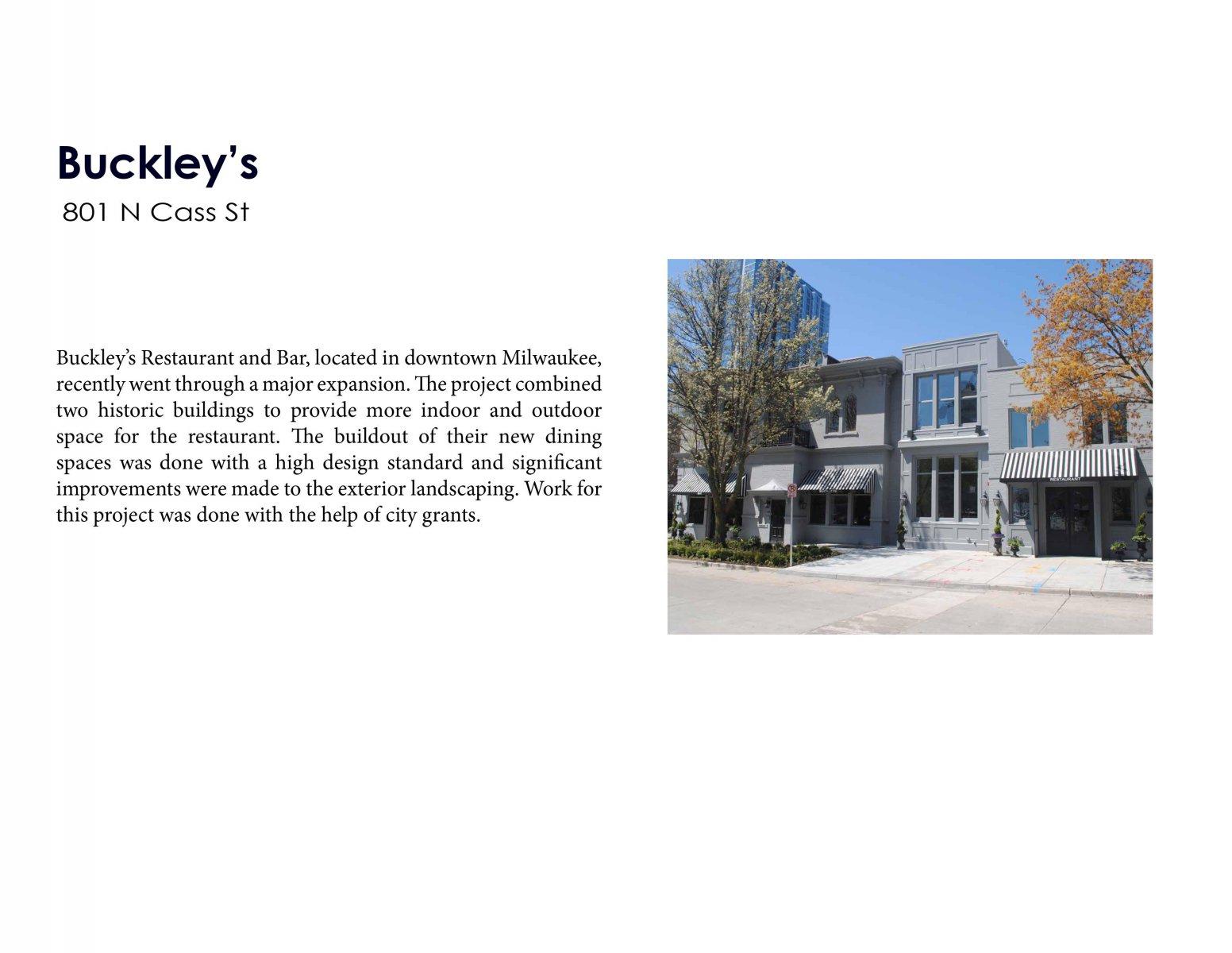 Buckley\'s Restaurant & Bar